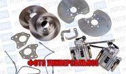 Задние дисковые тормоза Luсas 13 для ВАЗ 2101-07