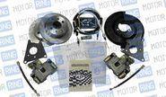 Задние дисковые тормоза AST для ВАЗ 2108-15, ВАЗ 2110-12, Лада Приора, Калина, Гранта без АБС