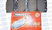 Тормозные колодки передние FERODO для ВАЗ 2101-07, красные FDB96
