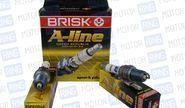 Комплект свечей зажигания Brisk A-Line DR15YCY №28 для Лада Ларгус 8V