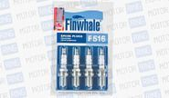 Комплект свечей зажигания FINWHALE F516 для ВАЗ 2110-12, Лада Калина, Приора, Гранта 16V