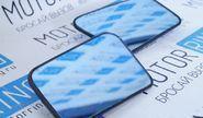 Комплект зеркальных элементов (стекол) без обогрева, с голубым антибликом для ВАЗ 2108-15