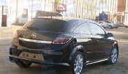Задний бампер «DM STYLE» неокрашенный для Opel Astra