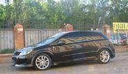 Пороги «DM STYLE» неокрашенные для Opel Astra