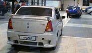 Спойлер «POWER DM 2» неокрашенный для Renault Logan