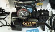 Компрессор автомобильный большой мощности для колес от R15 с цветной подсветкой AС-583 «City Up» Р2864