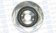 Передние тормозные диски Alnas Sport 2112 (R14, насечки, вентилируемые)