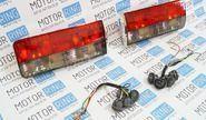 Задние фонари с красной полосой для ВАЗ 2106, Лада Нива 4х4 (старого образца)
