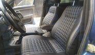 Обивка сидений (не чехлы) «Квадрат» экокожа с перфорацией на ВАЗ 2110