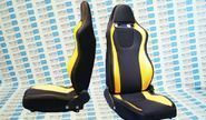 Комплект анатомических сидений vs Омега Классика на ВАЗ 2101-2107