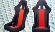 Комплект анатомических спортивных сидений VS Ковш Классика на ВАЗ 2104, 2105, 2107