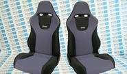 Комплект анатомических сидений VS Вега Самара на ВАЗ 2108-21099, 2113-2115