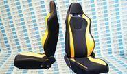 Комплект анатомических сидений VS Омега Самара на ВАЗ 2108-21099, 2113-2115