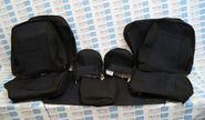 Заводская обивка сидений (не чехлы) на ВАЗ 2110
