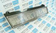 Решётка радиатора тонкие хром линии на ВАЗ 2108-21099