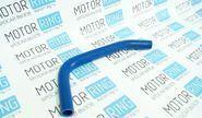 Патрубок расширительного бачка силиконовый синий на ВАЗ 2108-21099, 2113-2115 инжектор