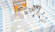 Задние дисковые тормоза Дизайн Сервис 13 вентилируемые для ВАЗ 2108-15, ВАЗ 2110-12, Лада Приора, Калина, Гранта без АБС