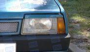 Реснички прямые в цвет на фары ВАЗ 2108, 2109, 21099