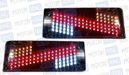 Задние диодные фонари Зигзаг на ВАЗ 2108-21099, 2113, 2114