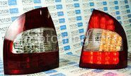 Задние диодные красно-белые фонари для Лада Калина седан