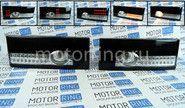 Задние диодные фонари черные с белой полосой на ВАЗ 2108-2114