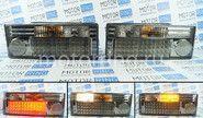 Задние фонари хром диодные ProSport RS-02019 на ВАЗ 2108-21099, 2113, 2114