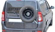 Кронштейн запасного колеса на дверные петли 0491 для Лада Ларгус