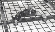 Кронштейн крепления запасного колеса на багажник 0187 для Шевроле Нива