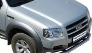Защита переднего бампера 0624 Н «Труба» d76 пикап нерж для Ford Ranger