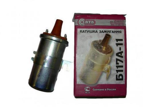 Катушка зажигания К100 2108-3706010 для ВАЗ 2108-099, ВАЗ 2110-12 (карбюратор)