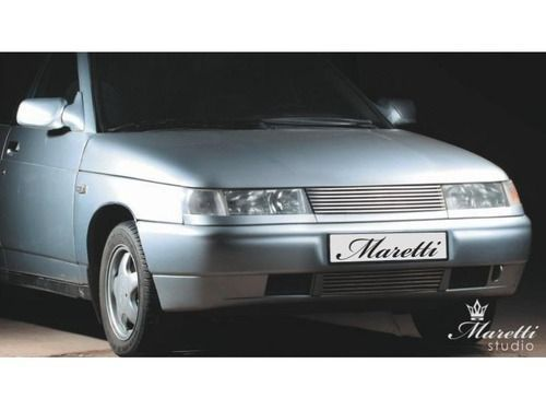 Декоративная решетка радиатора Maretti linee для ВАЗ 2110-12, Богдан (Хром)