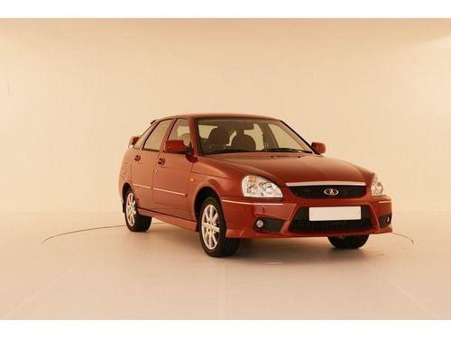 Передний бампер Torino для Лада Приора в цвет автомобиля.