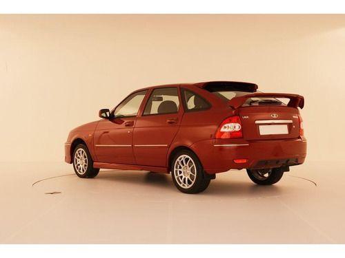 Задний бампер Torino для Лада Приора в цвет автомобиля.