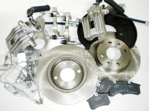 """Задние дисковые тормоза 13"""" Luсas под ABS для ВАЗ 2108-2172_1"""