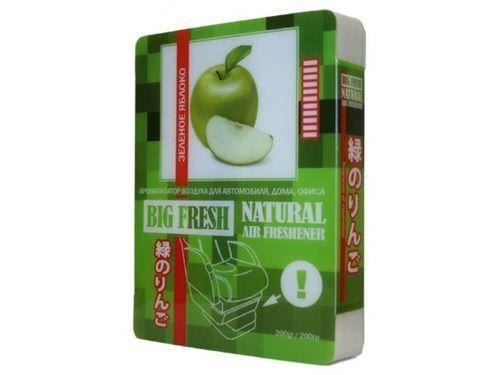 """Ароматизатор воздуха """"BIG FRESH"""" Зелёное яблоко._1"""
