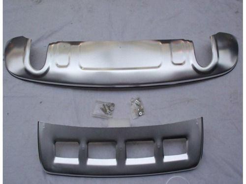 Накладка на передний и задний бампер, нерж. AUDI Q5 2008_1