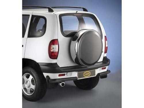 Защита заднего бампера, нерж. Chevrolet Niva_1