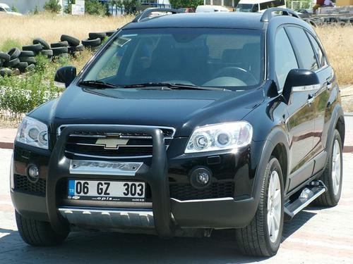 Пороги CHEVROLET CAPTIVA, ANATOLIA DIAMOND (черного цвета)_1