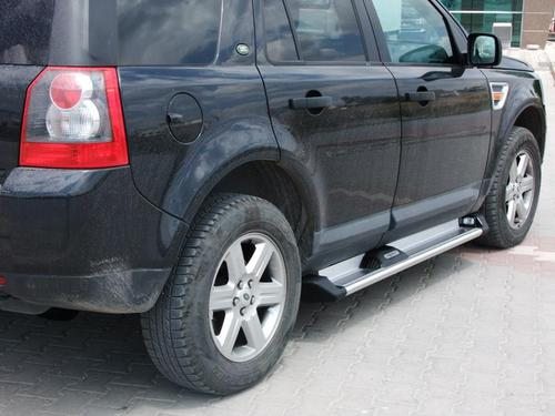 Пороги для LAND ROVER FREELANDER 2, ANATOLIA GOLD_1