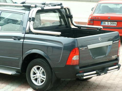 Защитные дуги для SSANG YONG ACTYON SPORT, DOUBLE ROLLBAR_1
