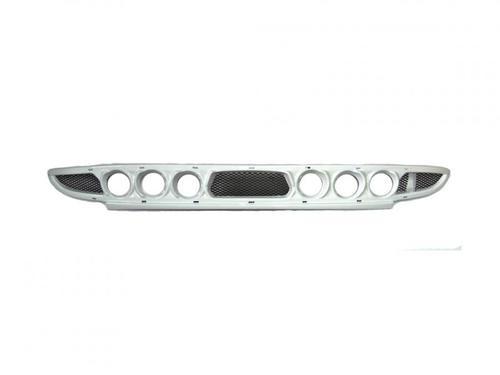 Нижняя решетка переднего бампера Лада Приора, под 3 комплекта ПТФ (exclusive),