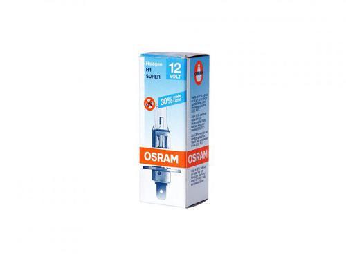 Лампа H1 12v 55W P14.5s всесезонная +30% OSRAM (64150ALS)