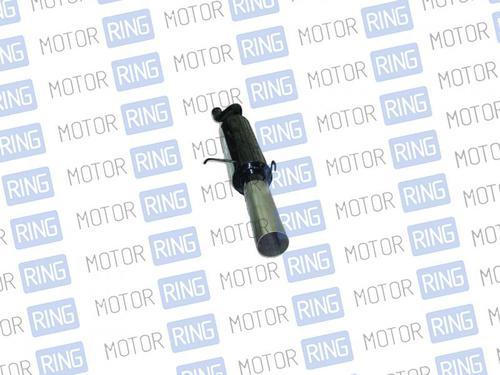 Глушитель прямоточный Ф85 мм для ВАЗ 2108, 2109 для штатной установки без насадки
