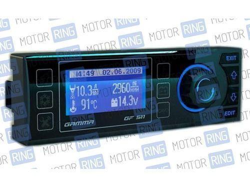 Бортовой компьютер Гамма GF 511 на ВАЗ 2110, 2111, 2112 с евро панелью_1