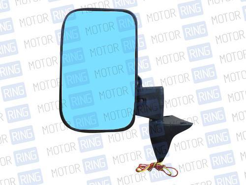 Боковое зеркало «Solina» с голубым антибликом и обогревом для Лада 4х4