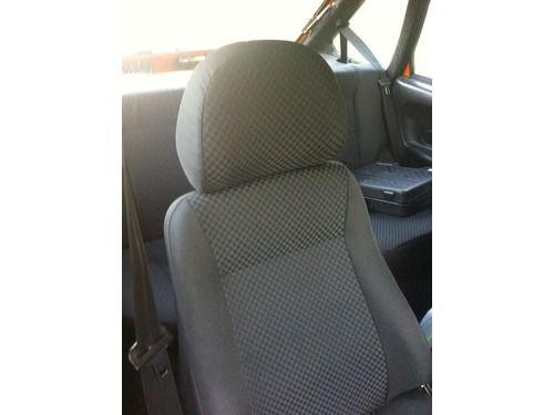 Чехлы (обивка) на сиденья ВАЗ 2108-15 черные Ультра