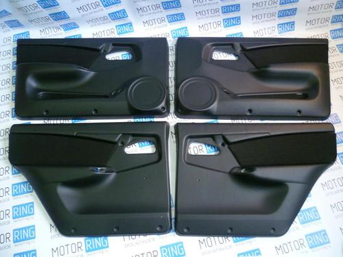 Заводские обивки дверей ЛЮКС-3 кожзам на ВАЗ 2109, 21099, 2114, 2115_1
