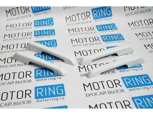 Накладки на ручки дверей в цвет кузова для ВАЗ 2108-15