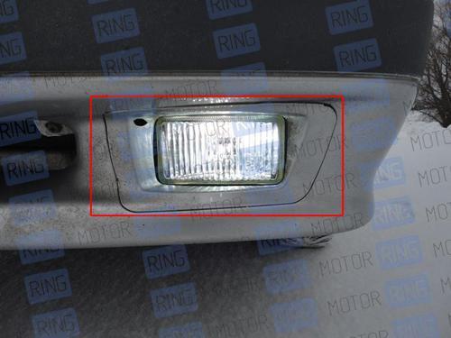 Рамки ПТФ для ВАЗ 2113-15 в цвет кузова_1