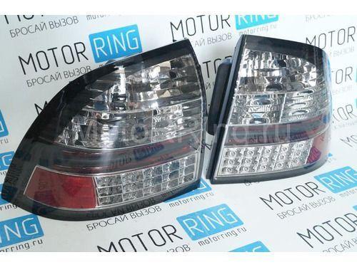 Задние диодные фонари Techno, тонированные для Лада Приора_1